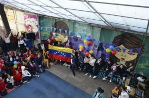 Celebración a familias de Venezuela